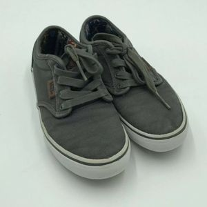 Vans Size 2.5 Youth gray shoes
